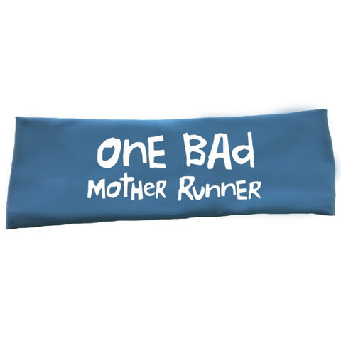 "OMM Tech Headband – ""One Bad Mother Runner"""
