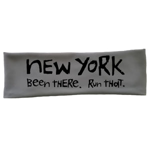 "OMM Tech Headband - ""New York:  Been There. Run That."""
