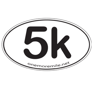"Car Magnet ""5K"""