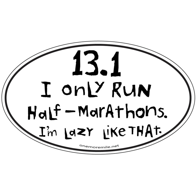 "Car Magnet ""13.1  Lazy Like That"""