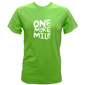 "Spectator Adult Cotton T Shirt-""One More Mile"""