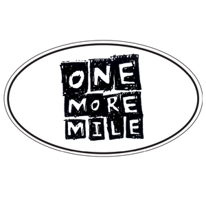 "Car Magnet ""One More Mile"""