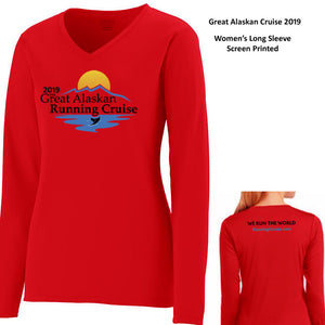 Coach Jenny's GARC 2019 Ladies Sports Tech Long Sleeve V