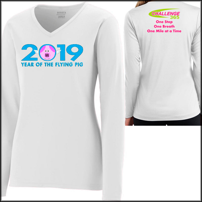 FP Ladies Sports Tech Long Sleeve V