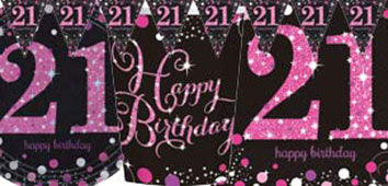 21st Pink And Black Birthday Parties