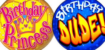 Happy Birthday Badges