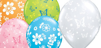 Flower & Butterfly Balloons