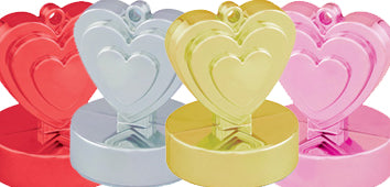 Anniversary Heart Weights
