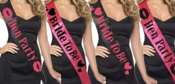 Hen Night  Party Sashes