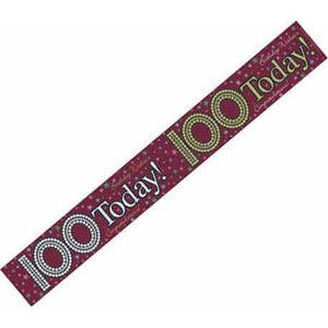 100 Today Holographic Banners