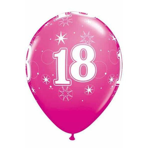 11 Inch 18 Wild Berry Sparkles Latex Balloons 25pk