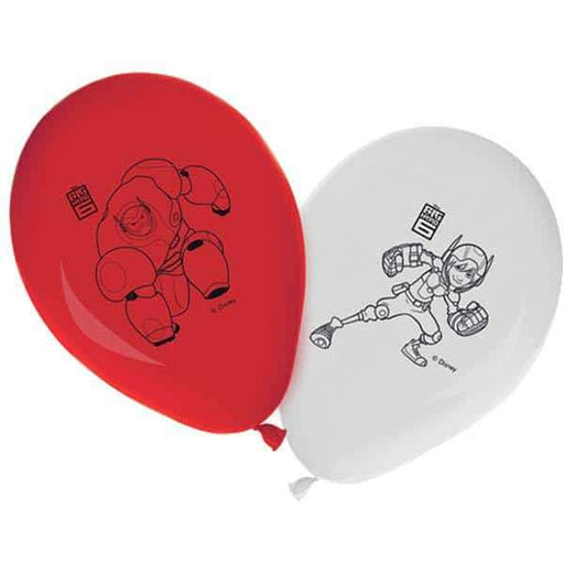 11 Inch Disney Big Hero 6 Printed Latex Balloons 8pk
