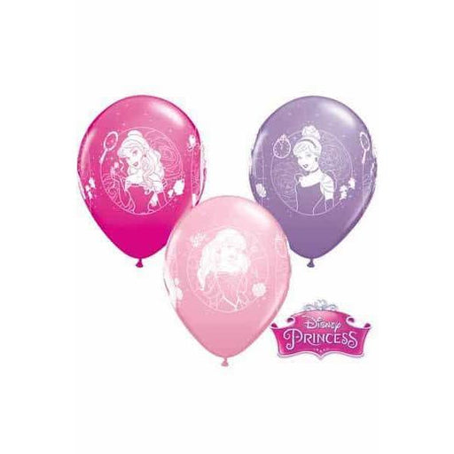 11 Inch Disney Princess Cameos Latex Balloons 25pk