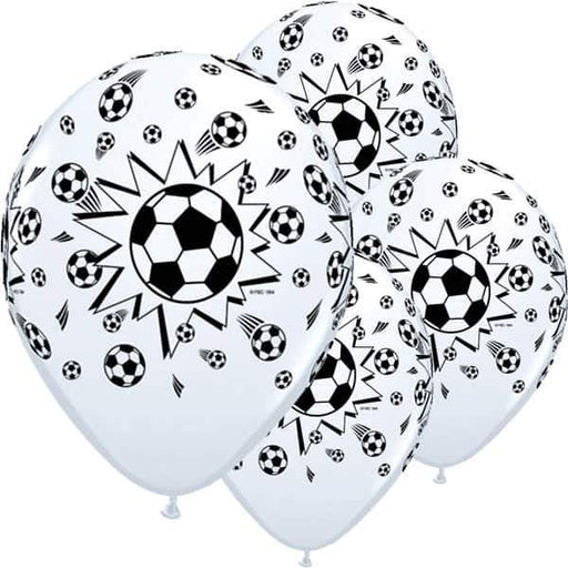 11 Inch Football Latex Balloons 6pk
