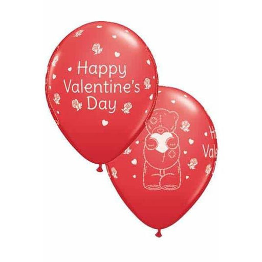 "11"" Tatty Teddy Valentines Day Latex Balloons 25pk"