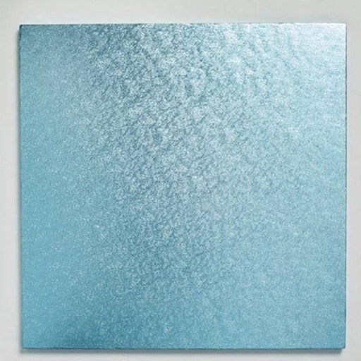 12 inch Light Blue Square Cake Board