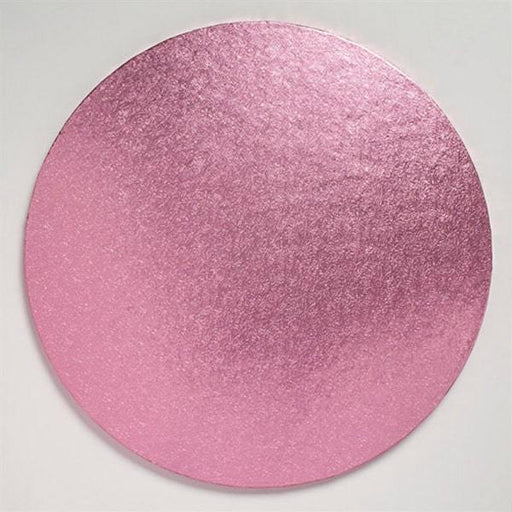 12 inch Light Pink Round Cake Board