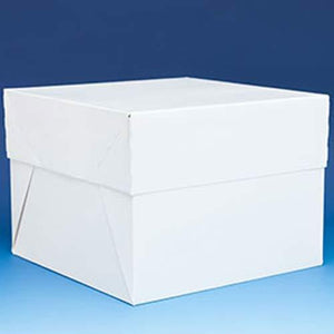 14 Inch White Cake Box With Lid
