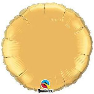 "18"" Gold Round Foil Balloon"