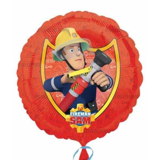 18 Inch Fireman Sam Comic Foil Balloon