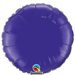"18"" Quartz Purple Round Foil Balloon"