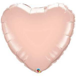 "18"" Rose Gold Heart Foil Balloon"