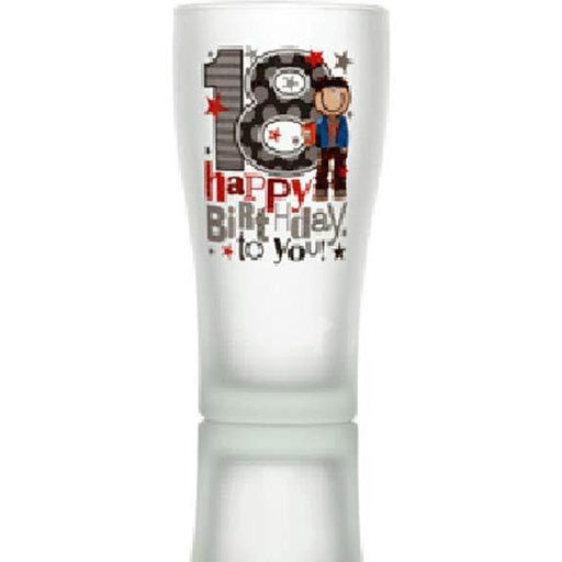 18th Beer Glass