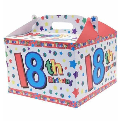 18th Birthday Party Carry Handle Balloon Box