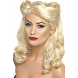1940s Blonde Pin Up Wig