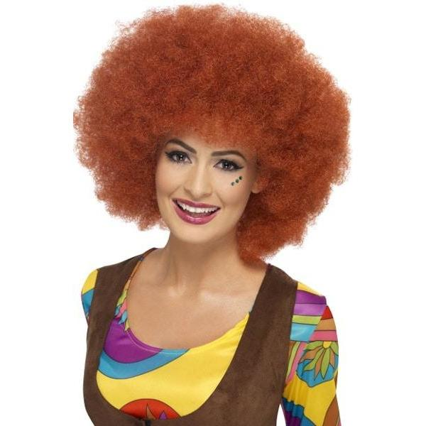 1960s Brown Afro Wigs