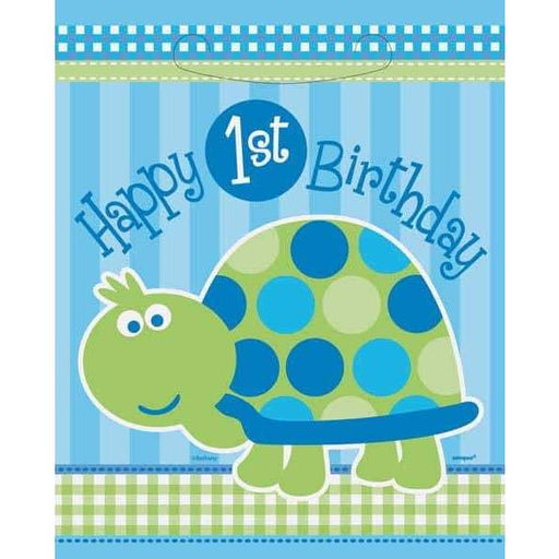 1st Birthday Turtle Party Lootbags x8
