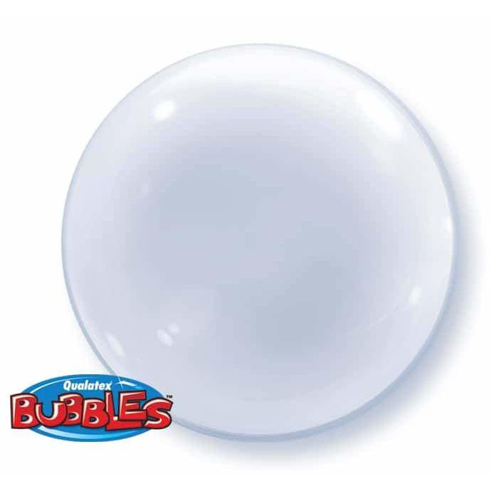 "20"" Clear Deco Bubbles Balloon"