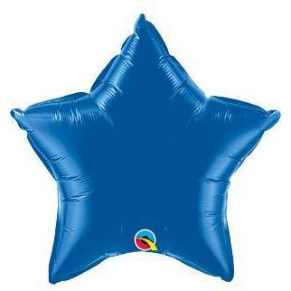 "20"" Dark Blue Star Foil Balloon"