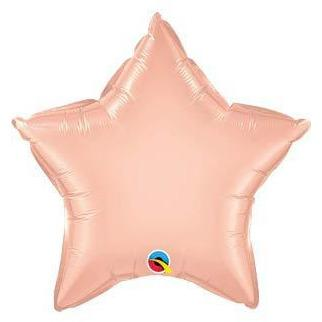 "20"" Rose Gold Star Foil Balloon"