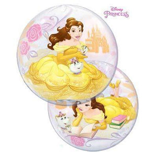 22 Inch Disney Princess Belle Single Bubble Balloon