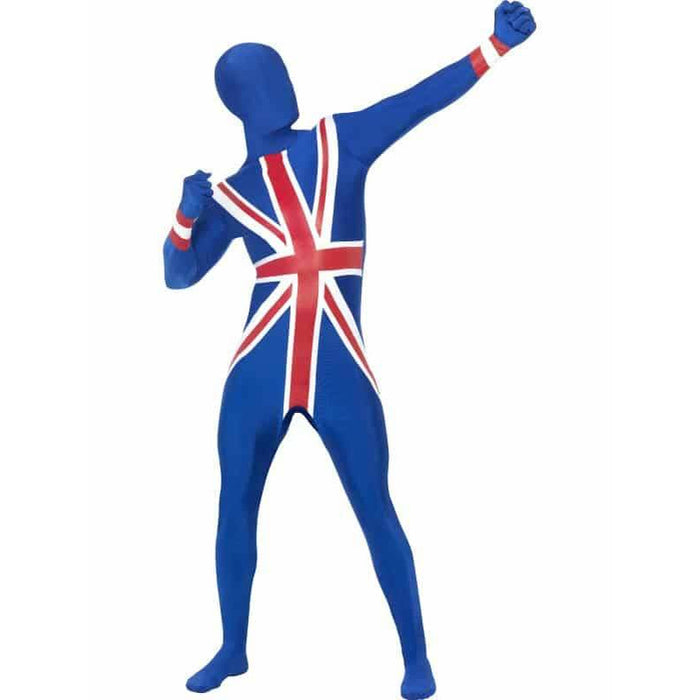 Union Jack Second Skin Suit Costume