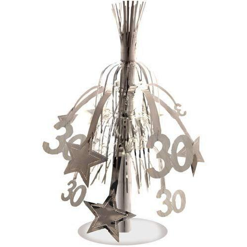 30 Silver Star Fountain Decoration