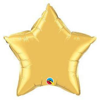 "36"" Gold Star Foil Balloon"