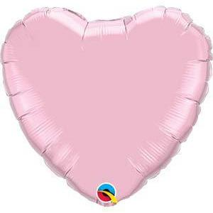 "36"" Pearl Pink Heart Foil Balloon"