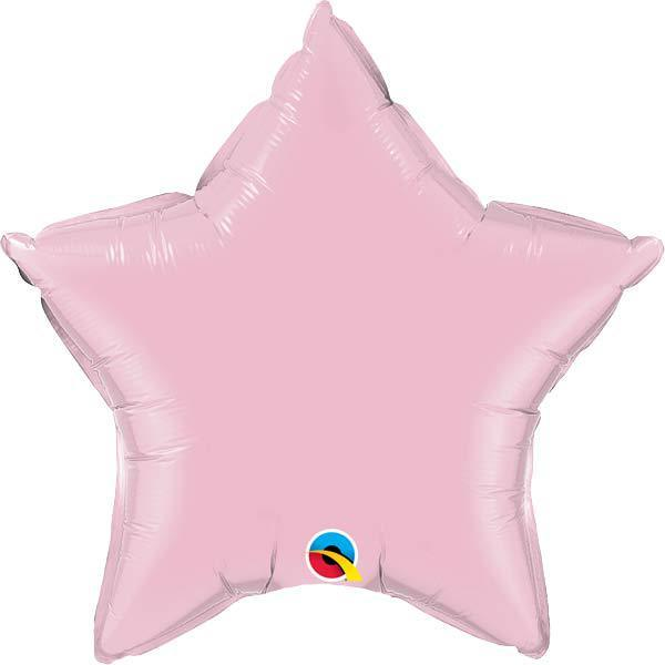 "36"" Pearl Pink Star Foil Balloon"