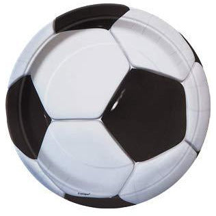 Football Paper Party Plates 8pk