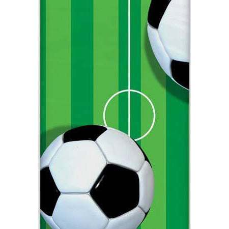 Football Plastic Party Tablecover