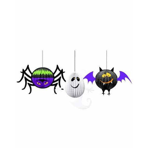 3D Gruesome Group Hanging Decorations 3pk