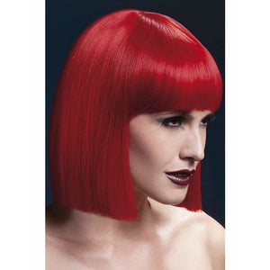 Fever Red Lola Wig