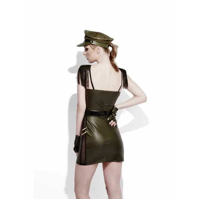 Fever Miss Behave Military Chief Costume