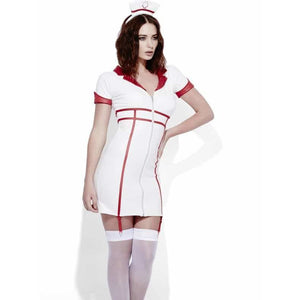 Fever Miss Behave Nurse Costume - mypartymonsterstore