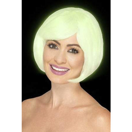 Glow In The Dark Party Wig