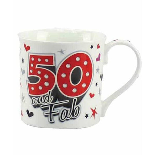 50 And Fab Fine China Mugs