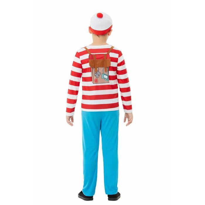 Where's Wally Deluxe Costume