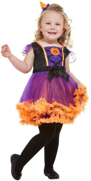 Toddler Pumpkin Witch Costume